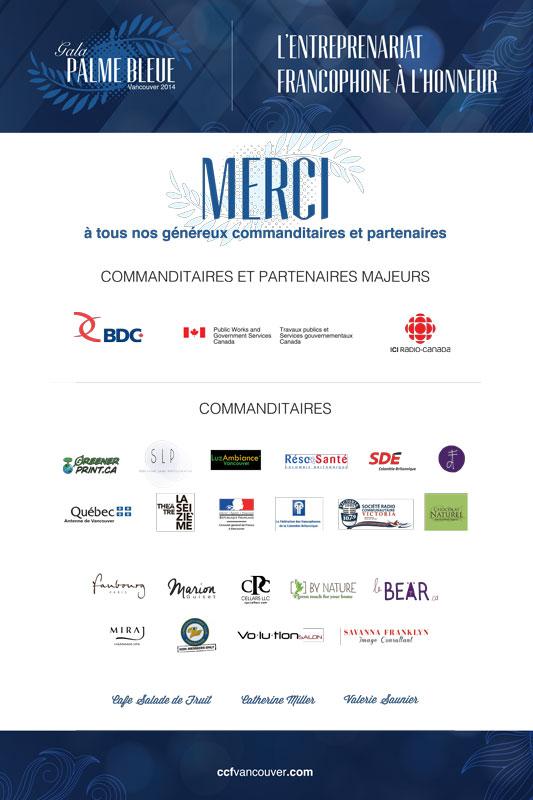 La chambre de commerce francophone de vancouver nos for Chambre de commerce vancouver